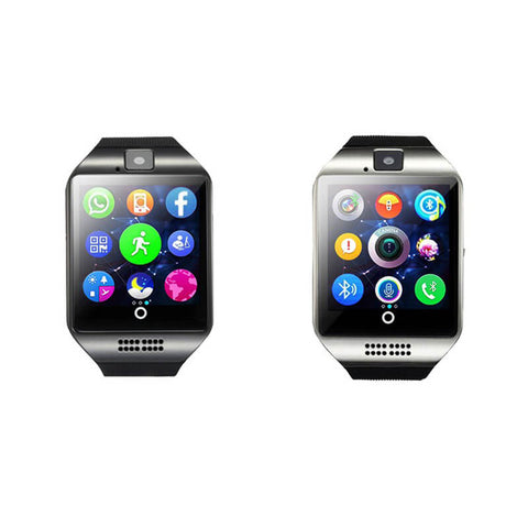 Smart Watch Bluetooth With Touch Screen Camera Passometer Support TF Card for Android or iOS Phone