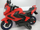 12V ELECTRIC KIDS RIDE-ON MOTORCYCLE - Red side1