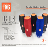 TG108 - High Bass Portable Speaker