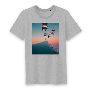 "T-shirt homme col rond  ""Air plane"""