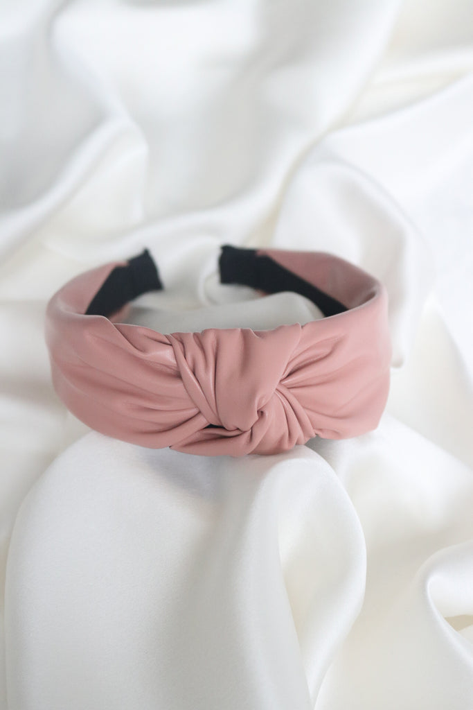 Knot Your Fault Headband (Pink)