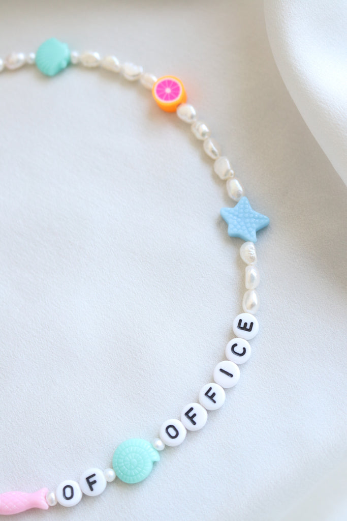 Out of Office Necklace