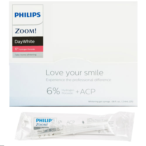 Philips Zoom Day White 6% (Bulk 25 Syringe Reseller Pack) *GREAT VALUE*