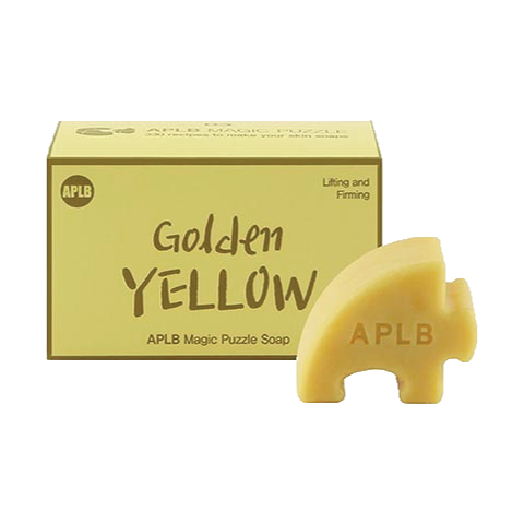 Magic Puzzle Soap #. 3 Golden Yellow