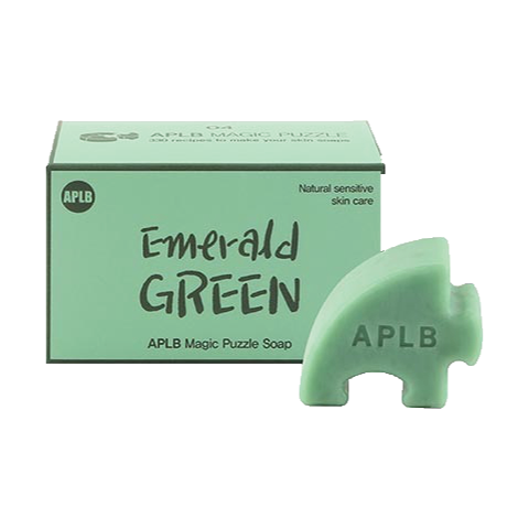 Magic Puzzle Soap #. 4 Emerald Green