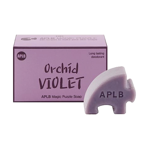 Magic Puzzle Soap #. 6 Orchid Violet