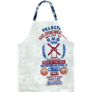 Home Apron - Blue Elephants