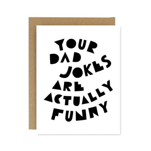 Card - Dad Jokes for Father's Day
