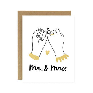 Card - Mr. + Mrs. Pinky Promise