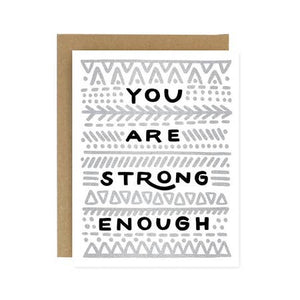 Card - You Are Strong Enough