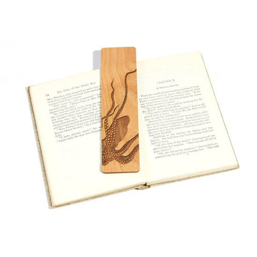Octopus Wooden Bookmark