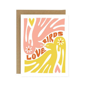Card - Love Birds