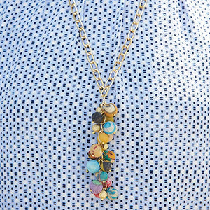 Cascading Kantha Necklace