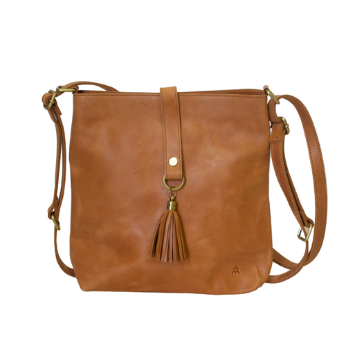 Leather Mini Slingback Bag