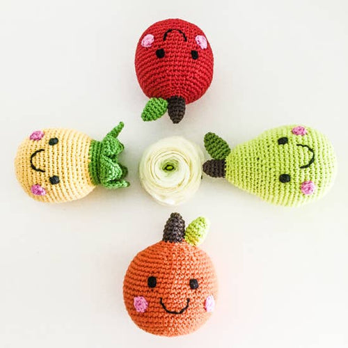 Friendly Fruit Baby Rattle