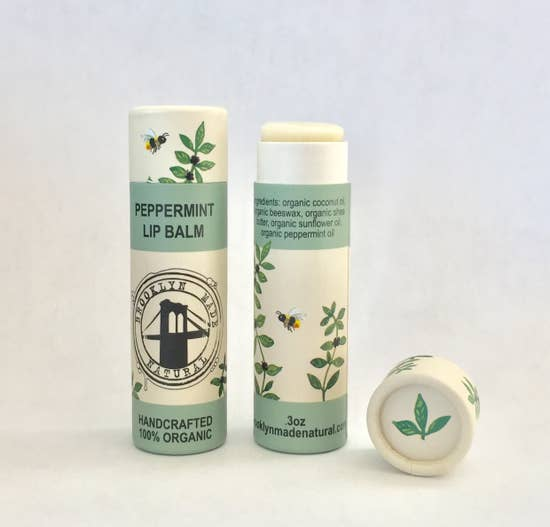 Zero Waste Organic Lip Balm Tube