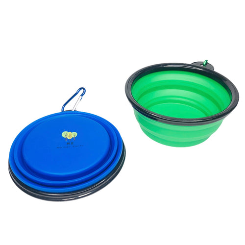 Reusable Collapsible Silicone Dog Bowl