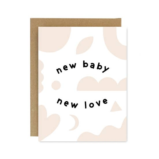 Card - New Baby New Love