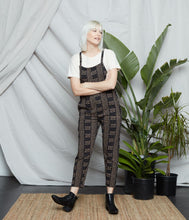 Load image into Gallery viewer, Cadence Overall - Black/Oatmeal
