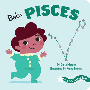 Baby Pisces: Little Zodiac Board Book - Baby Shower Gift