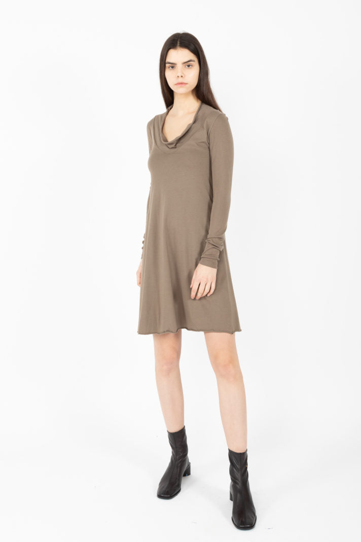 Long Sleeve Falconet Dress