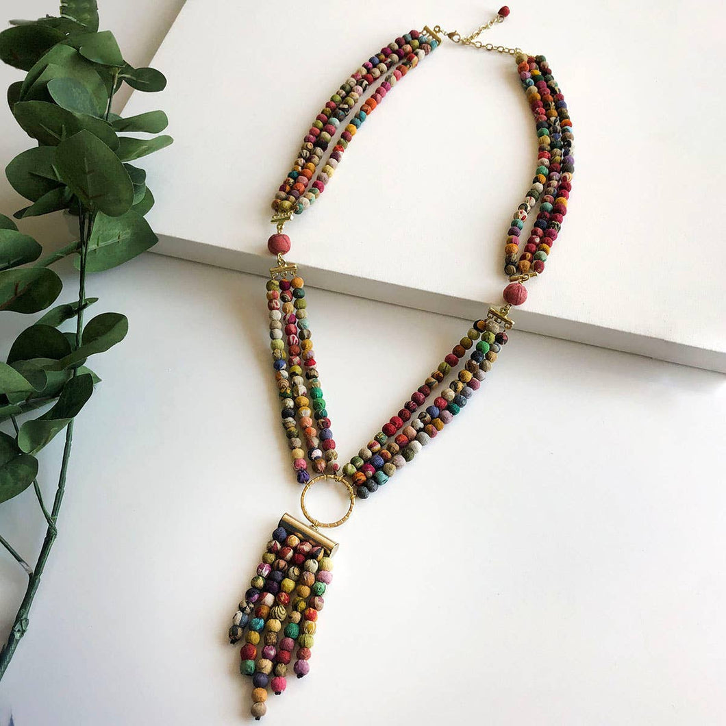 Kantha Shiva Necklace - WorldFinds