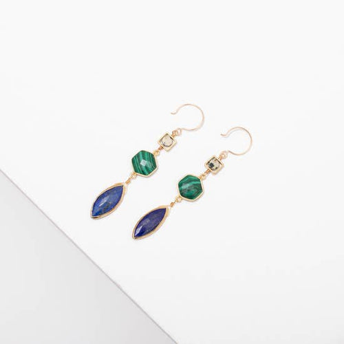 Larissa Loden Margaret Gemstone Earrings