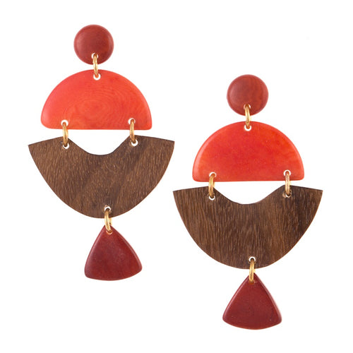 Tigre Earrings