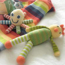 Load image into Gallery viewer, Rainbow Octopus Baby Rattle