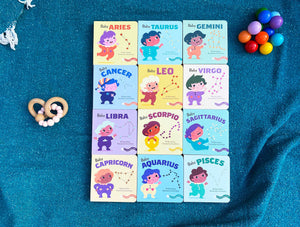 Baby Virgo: Little Zodiac Board Book - Baby Shower Gift