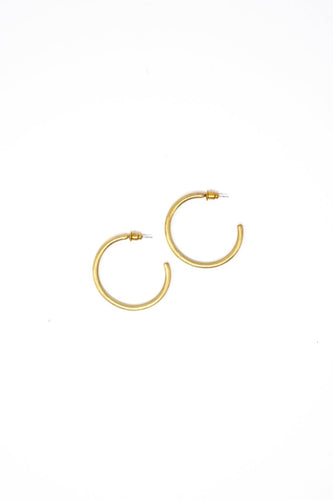 Essential Gold Hoops
