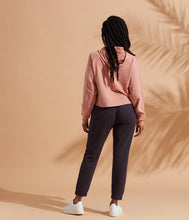 Load image into Gallery viewer, Known Supply Aria Blush Crop Hoodie
