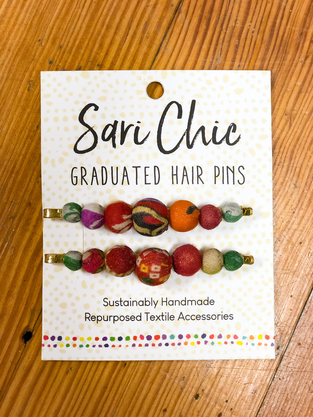 Sari Chic Graduated Hair Pins