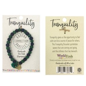 Kantha Connection Bracelet - Tranquility