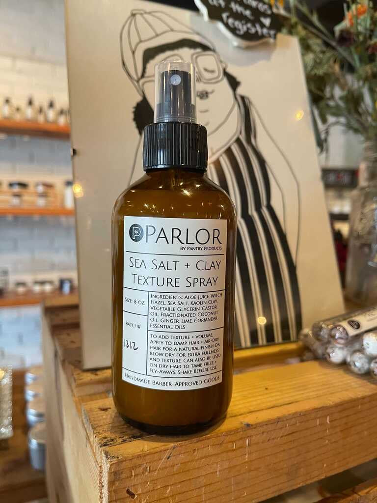 Natural Sea Salt and Clay Texture Spray - Pantry Products