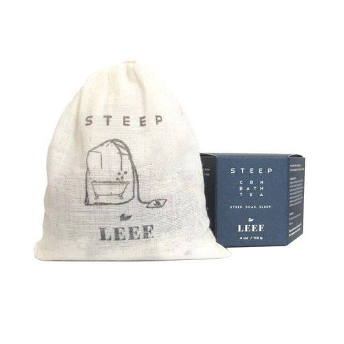 STEEP CBN Bath Tea | LEEF Organics