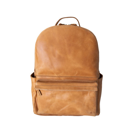 Elevate Commuter Leather Backpack