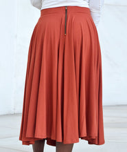 Load image into Gallery viewer, Malala Midi Skirt - Pumpkin Spice