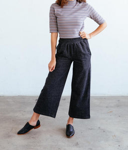 Dixie Pant - Black Heather