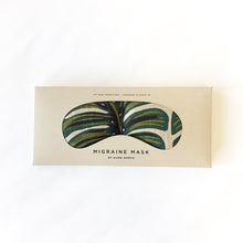 Load image into Gallery viewer, Eye Mask - Tropical Monstera