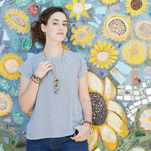 Load image into Gallery viewer, Cascading Kantha Necklace
