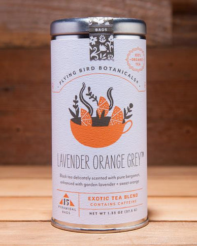 Tea Bags - Lavender Orange Grey