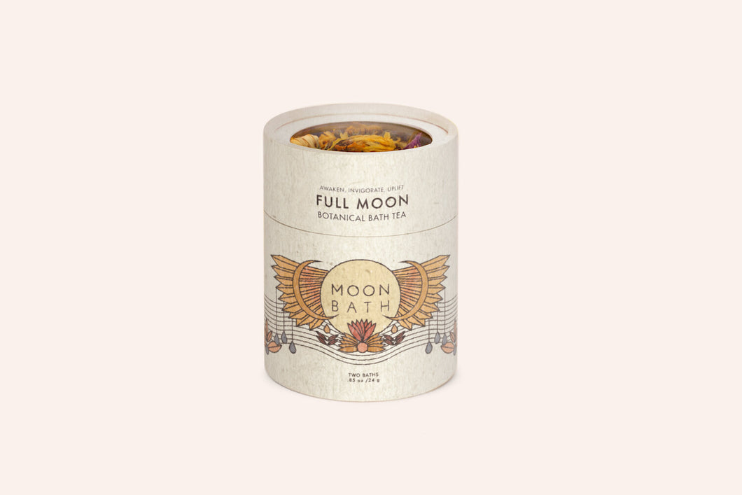 Moon Bath Lunar Cycle Full Moon Botanical Bath Tea