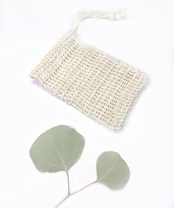 Me.Mother Earth Natural Sisal Soap Saver Pouch/Bag