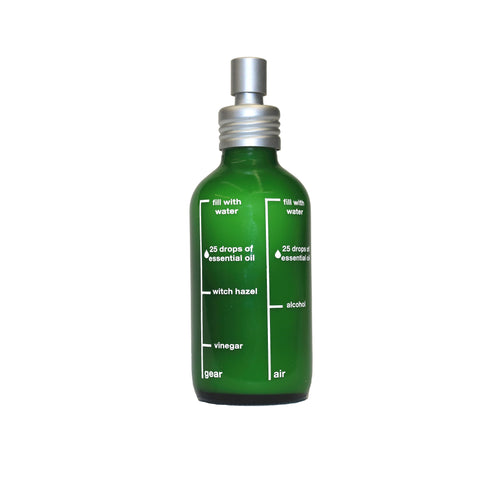 Room Spray Bottle with Recipes - Zero Waste Cleaning
