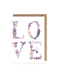 Love No. 1 Greeting Card