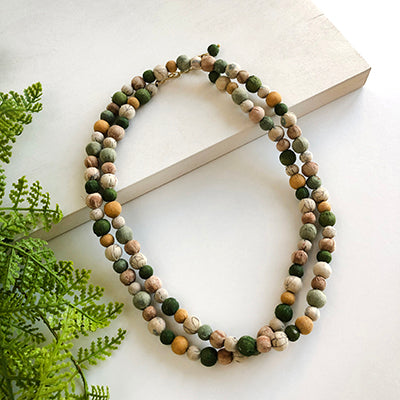 Kantha Terai Necklace
