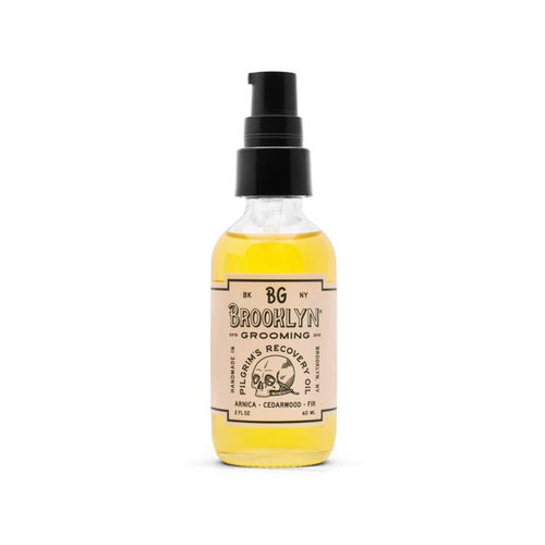 Brooklyn Grooming - Pilgrim's Recovery Oil - Natural Muscle Pain Relief