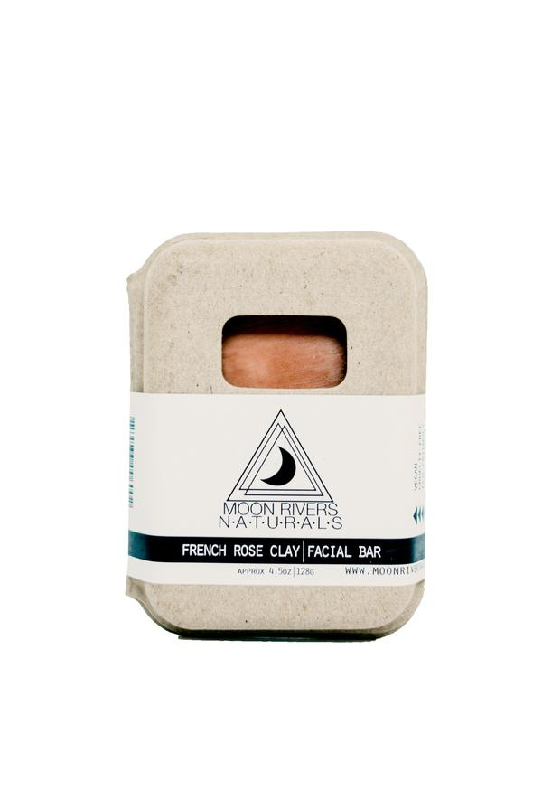 Facial Bar - French Rose Clay