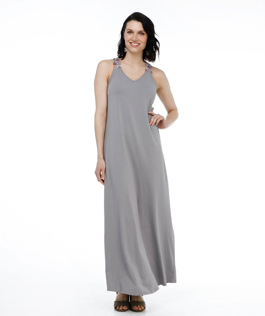 Rowan Dress - Cool Grey
